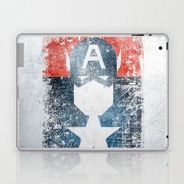 Yankee Captain grunge superhero Laptop & iPad Skin