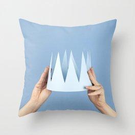 Coronation day Throw Pillow