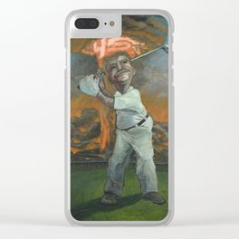 Golfin with Donny Clear iPhone Case