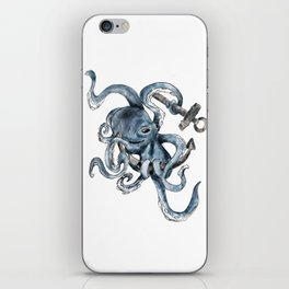 Seven Paw Octopus iPhone Skin