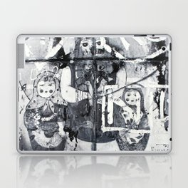 Russian Graffiti on the Arbat Laptop & iPad Skin