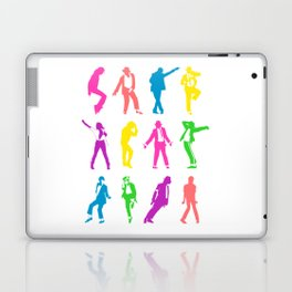 MJ Silhouettes Laptop & iPad Skin