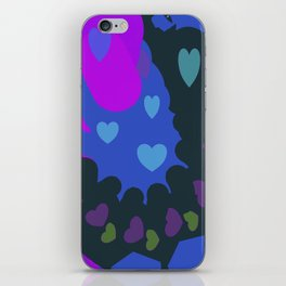 Hearts Galore iPhone Skin