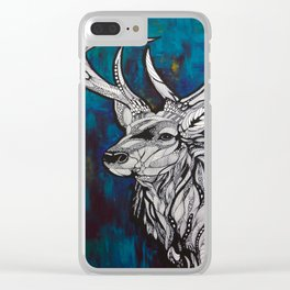 Buck Clear iPhone Case