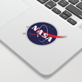 "The Official NASA ""Meatball"" Logo (and licensed!) Sticker"