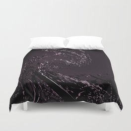 Corn abstraction Duvet Cover