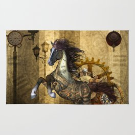 Awesome steampunk horse Rug