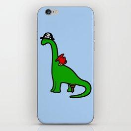 Pirate Dinosaur - Brachiosaurus iPhone Skin