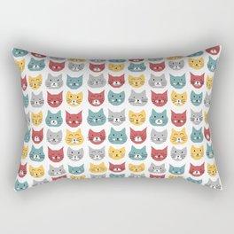 Kittens pattern Rectangular Pillow