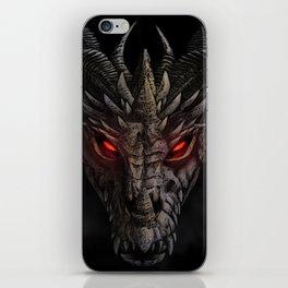 Red eyed dragon iPhone Skin