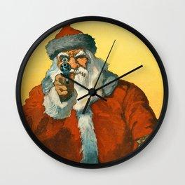 Santa Clous Wall Clock