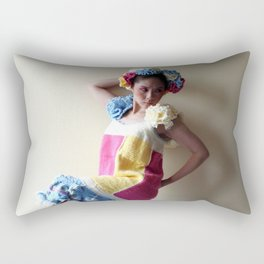 Yarn For Spring (2) Rectangular Pillow