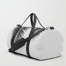 Palm Leaf Black & White I Duffle Bag