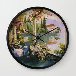 Italian veranda Wall Clock