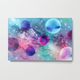 Vaporwave Pastel Space Mood Metal Print