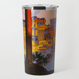 Vintage Rome Italy Travel Travel Mug