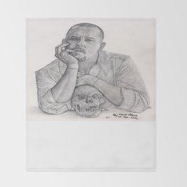 Alexander McQueen Savage Beauty Drawing Throw Blanket