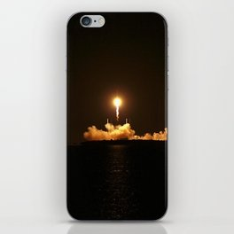 SpaceX Night Launch iPhone Skin
