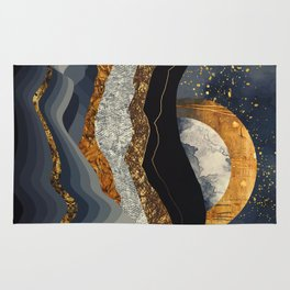 Metallic Mountains Rug