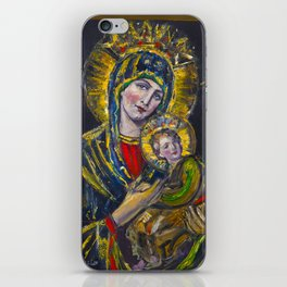 Our Lady of Perpetual Help iPhone Skin
