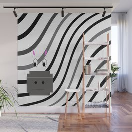 Zane the Zebra Wall Mural