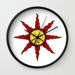 Praise the sun Wall Clock