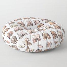 Butts Butts Butts Floor Pillow
