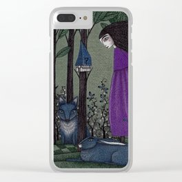 There is a Place in the Woods... Clear iPhone Case