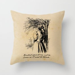 Anne of Green Gables - Kindred Spirits Throw Pillow