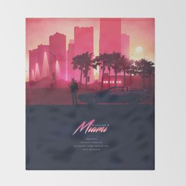 HOTLINE MIAMI ORIGINAL REVAMPED Throw Blanket