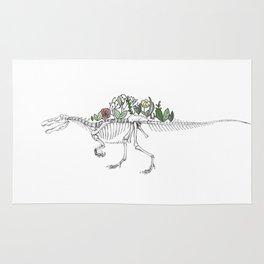 Spino-peony-saurus Rug