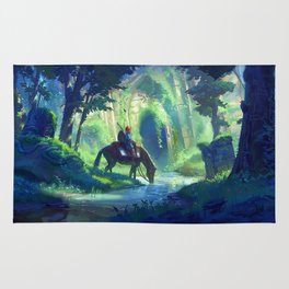 Link - Breath of The Wild Rug