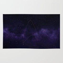 The Starfleet Star Formation Rug