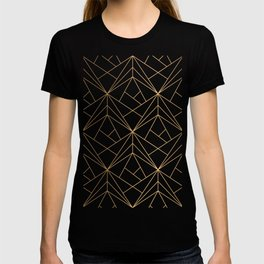 Polygonal Pattern T-shirt