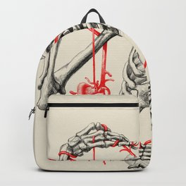I need a heart to feel complete Backpack