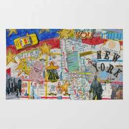 New York City Collage Rug