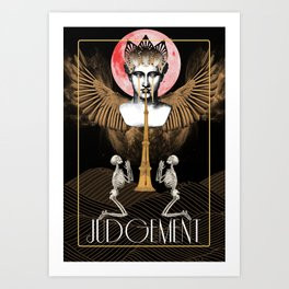 The Judgement Art Print
