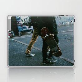 Skaters in Waterloo, London Laptop & iPad Skin