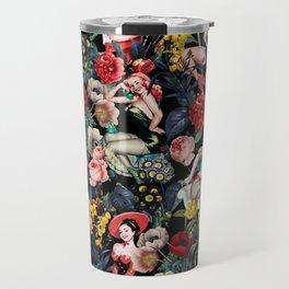 Floral and Pin-Up Girls IV Travel Mug