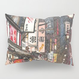 Lights in the Snow Pillow Sham