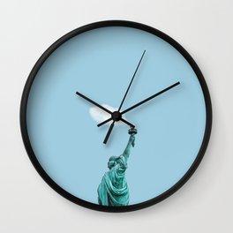 Le Petit Cloud - Cloud of Liberty Wall Clock