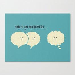 Introvert (Alt Version) Canvas Print