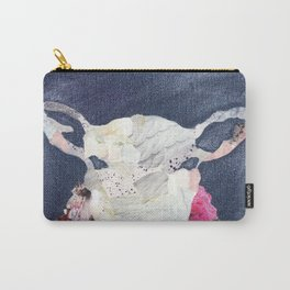 Sheep portrait Carry-All Pouch