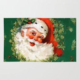 Jolly Ole Santa Pixel Rug