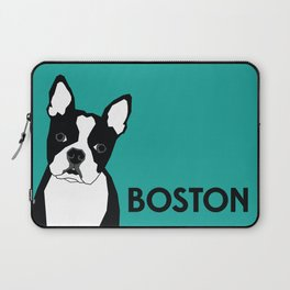 Boston In Abstract Laptop Sleeve