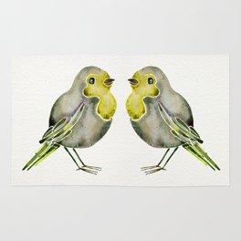 Little Yellow Birds Rug