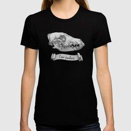 Dog Skull in Ink T-shirt