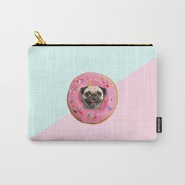 Pug Strawberry Donut Carry-All Pouch