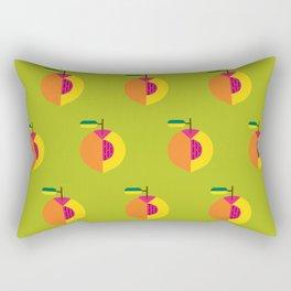 Fruit: Peach Rectangular Pillow