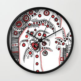 """""""The Enchanted Forest"""" #2 Wall Clock"""